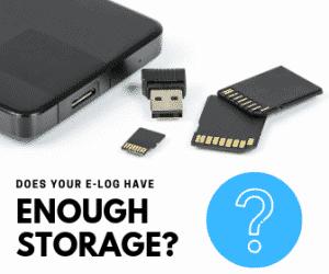 e log storage