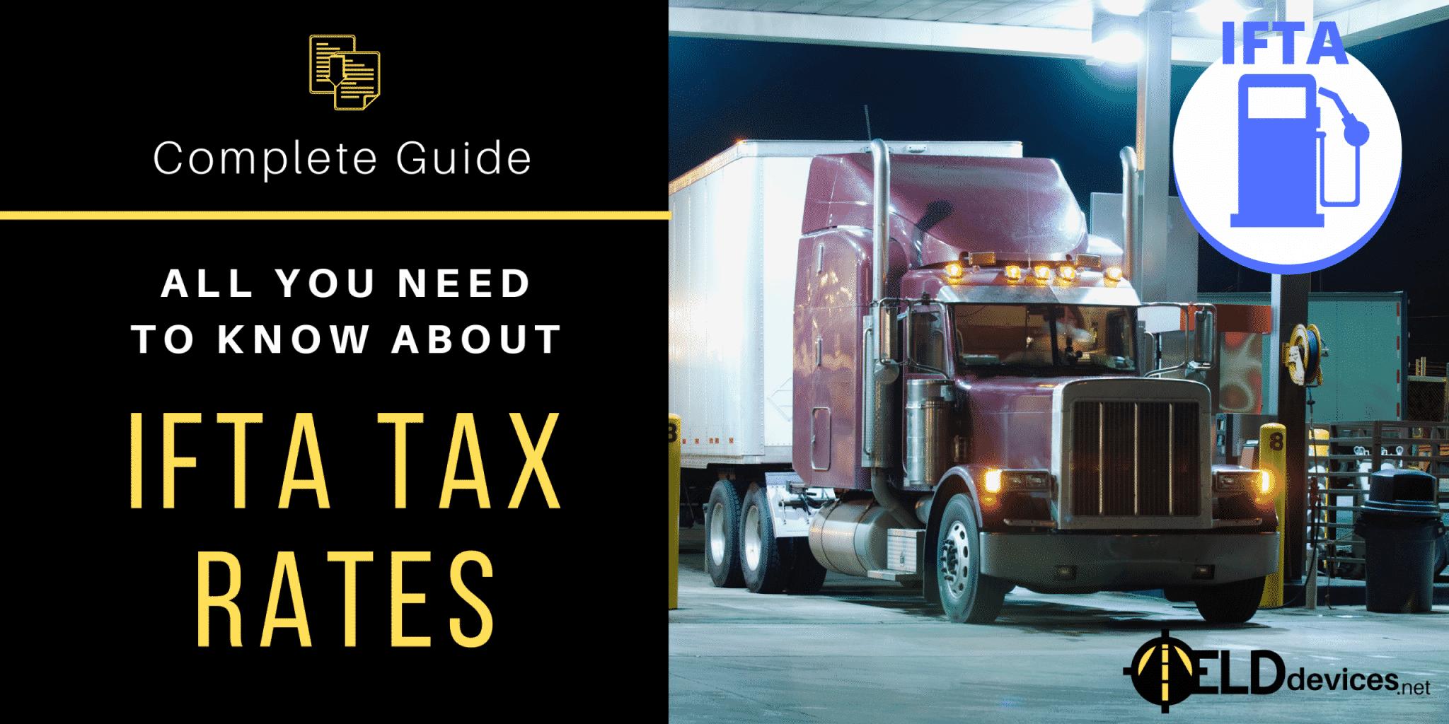 ifta tax rates
